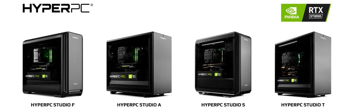Линейка компьютеров для работы и творчества STUDIO от HYPERPC