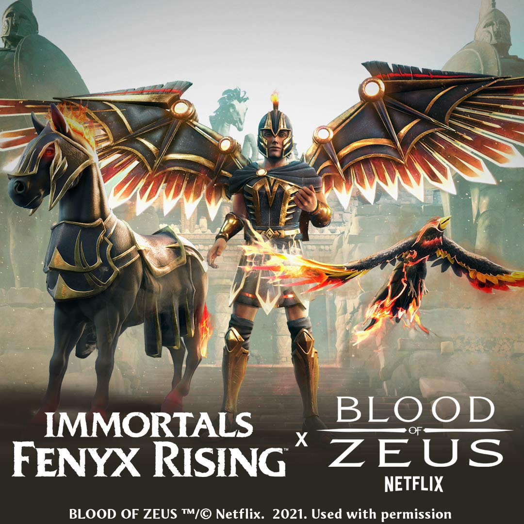 Immortals Fenyx Rising - Начался коллаборационный ивент с анимационным сериалом Кровь Зевса