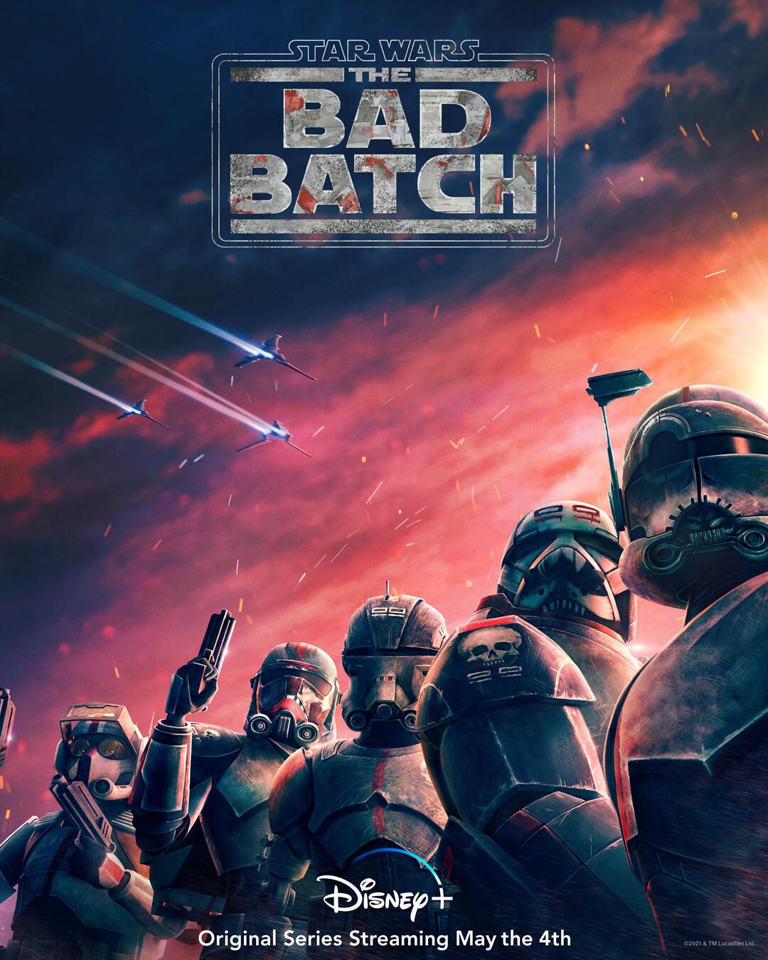 Дебютный трейлер «Звездных войн: Бракованная партия» - спин-оффа «Войн клонов», Анимационное шоу для Disney+