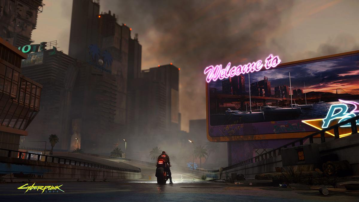 Cyberpunk 2077 - жизнь игры в течение последних 7 лет