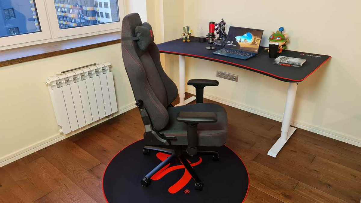 [Обзор] Лучшее кресло для больших геймеров AROZZI PRIMO WOVEN FABRIC,