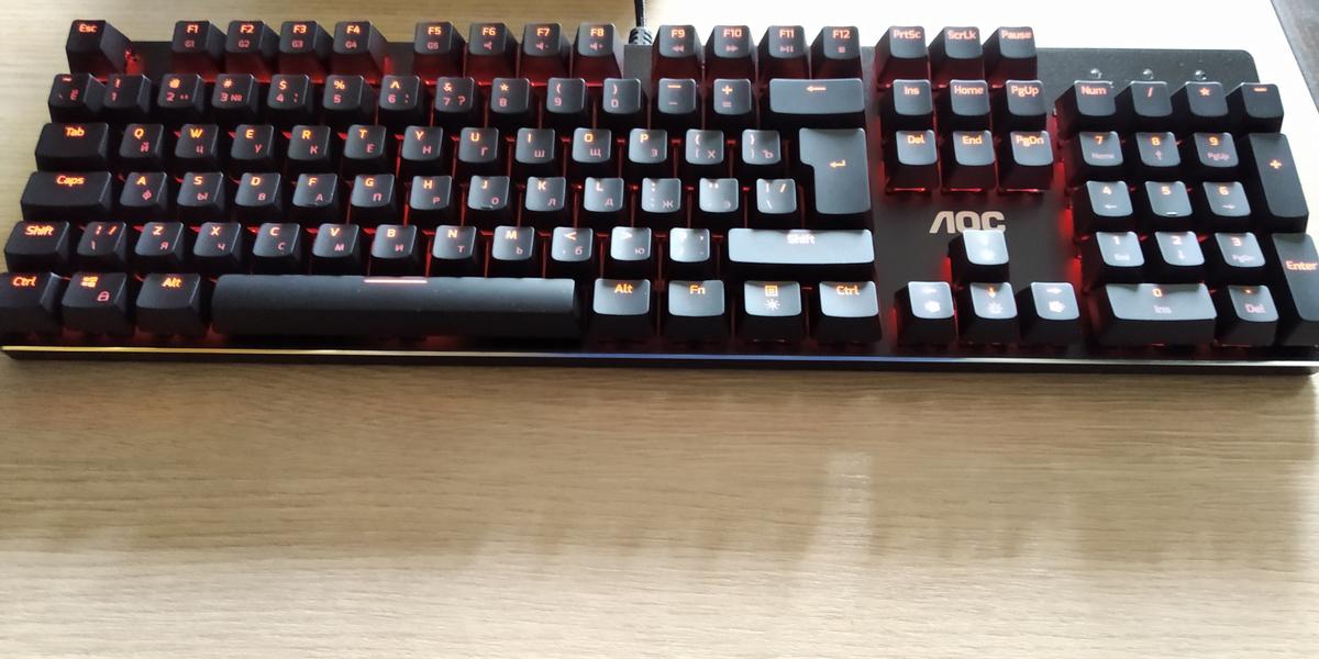 [Обзор] GK500 и GM500 - достойный дебют AOC на рынке клавомышей