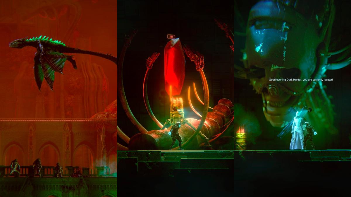 Dark Light - платформер с souls-like элементами