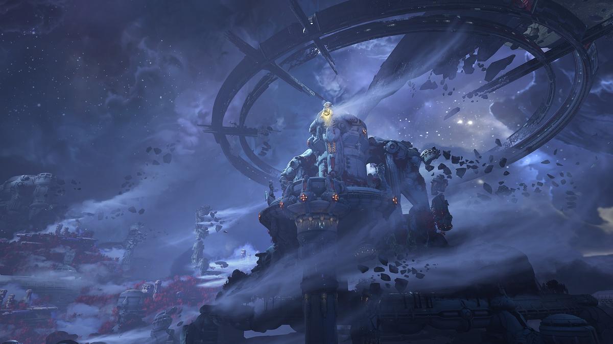 DOOM Eternal - Первые скриншоты сюжетного DLC