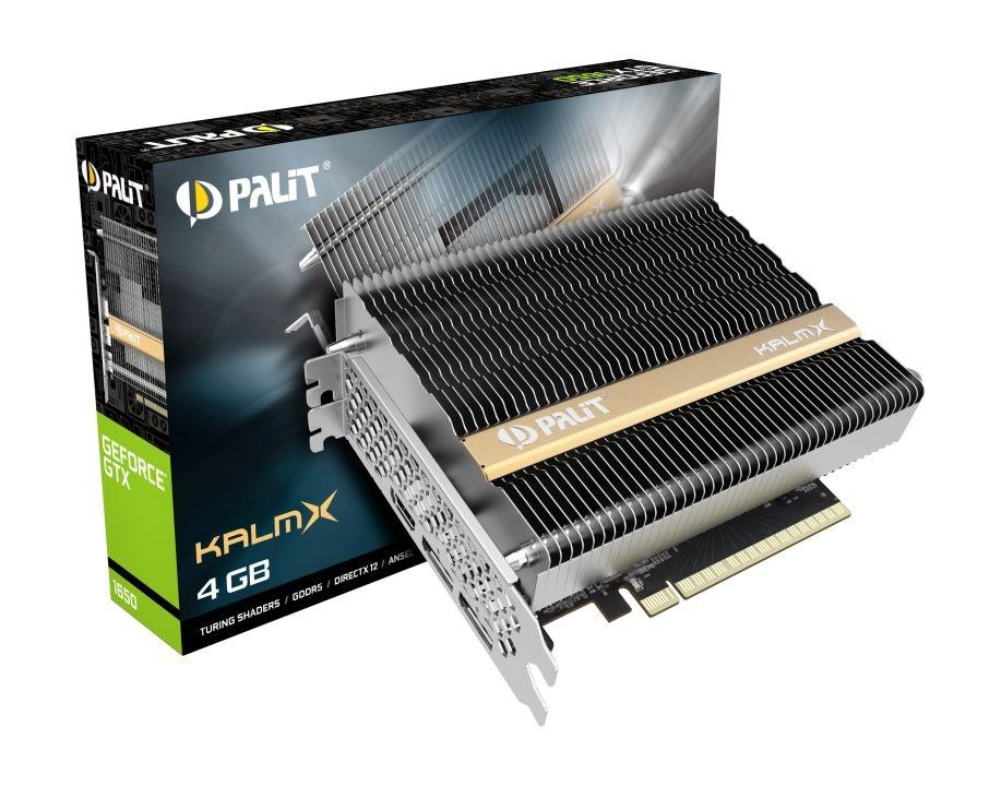 Компания Palit представила видеокарту GeForce GTX 1650 KalmX
