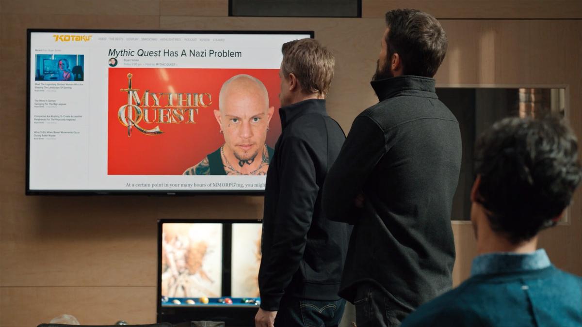 MYTHIC QUEST - отличный сериал об игровой индустрии и людях от UBISOFT