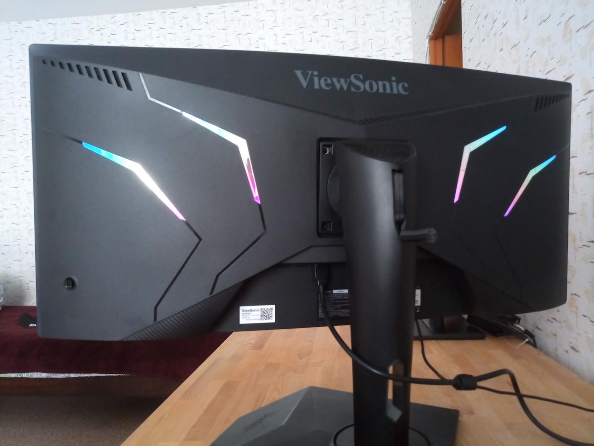 ViewSonic Elite XG350R-C - конкурентный 1440p Ultrawide