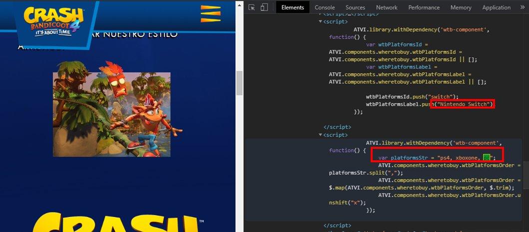 Crash Bandicoot 4: It's About Time - Игра может выйти и на ПК с Nintendo Switch