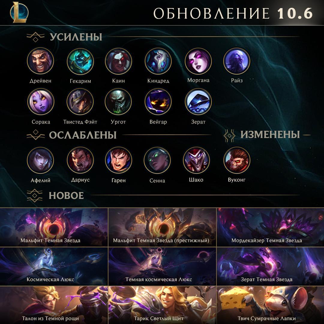 """League of Legends - Обновленный Вуконг и набор """"Галактики"""""""