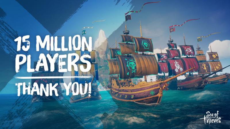Sea of Thieves - Количество пользователей превысило 15,000,000