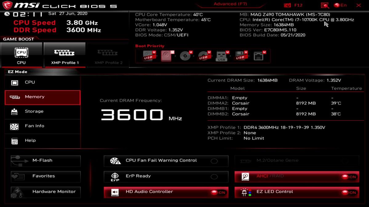 [Обзор] Corsair Vengeance RGB Pro DDR4-3600 — оперативная память с подсветкой и XMP профилем