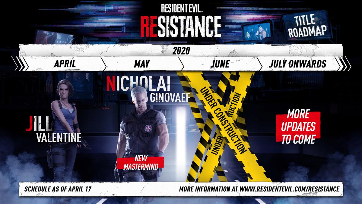 "Resident Evil 3 - Джилл Валентайн присоединилась к ""Resistance"""