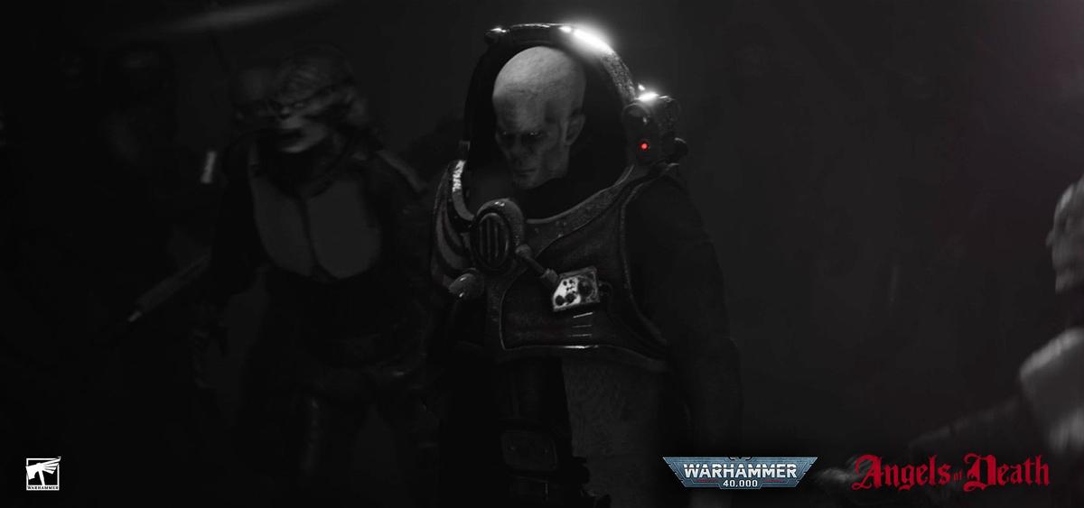 Культ генокрадов в трейлере Ангелов смерти - анимационного сериала по Warhammer 40,000