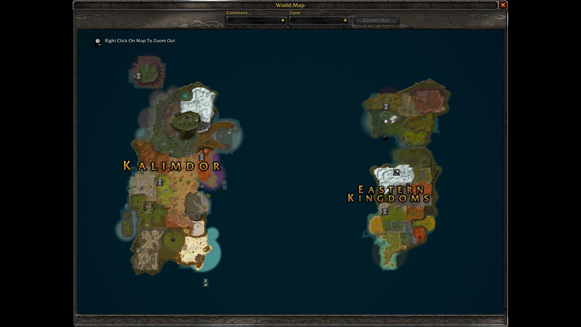 Atlas World Map Wow