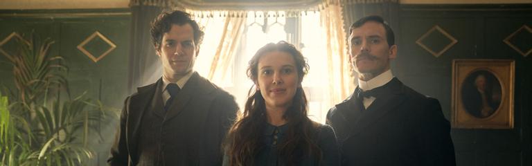Генри Кавилл и Милли Бобби Браун в первом тизер-трейлере Энолы Холмс от Netflix