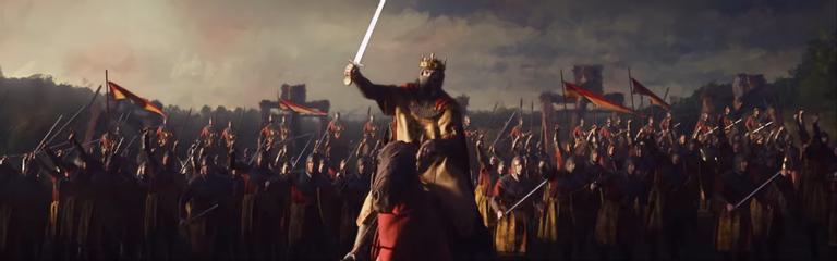 Crusader Kings III - Более получаса демонстрации игрового процесса