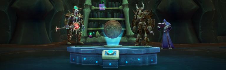 World of Warcraft - Изменения стола заданий в дополнении Shadowlands