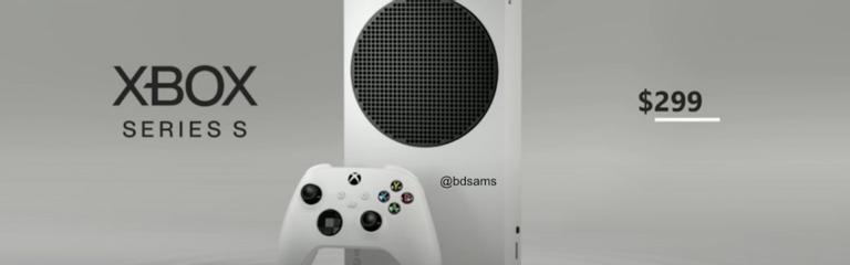 Это Xbox Series S, знакомьтесь
