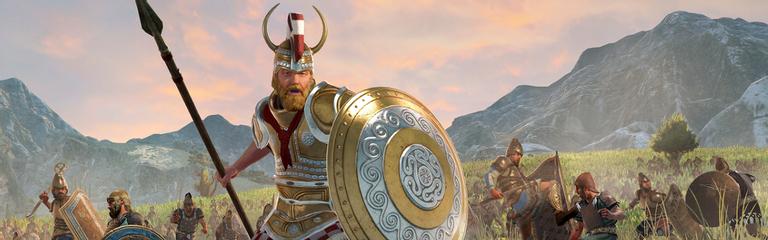 Total War Saga Troy  Кампания Менелая и DLC с амазонками как бонус предзаказа