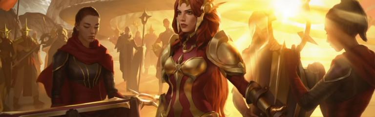 Legends of Runeterra - На защиту Таргона встанет Леона