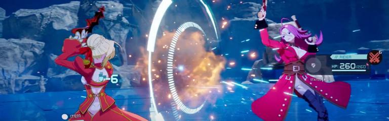 Анонсирован ремейк FateEXTRA  Первые кадры геймплея