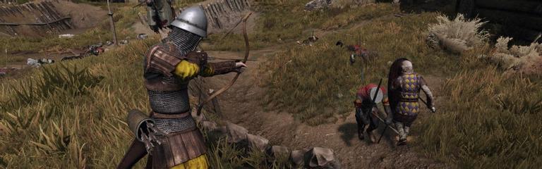 "Mount & Blade II: Bannerlord - Запись полного матча в режиме ""Skirmish"""