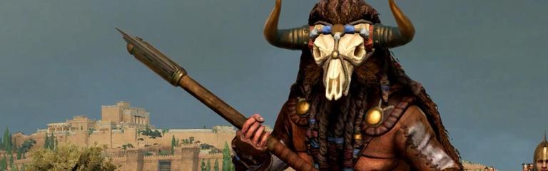Total War Saga Troy  Ахилл, Одиссей и другие греческие полководцы в обзорном трейлере