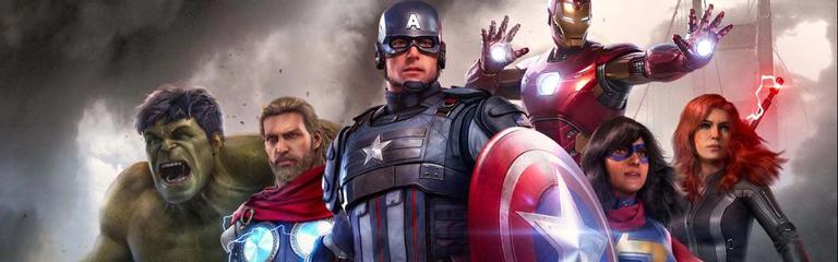Стрим Marvel Avengers - Первый взгляд