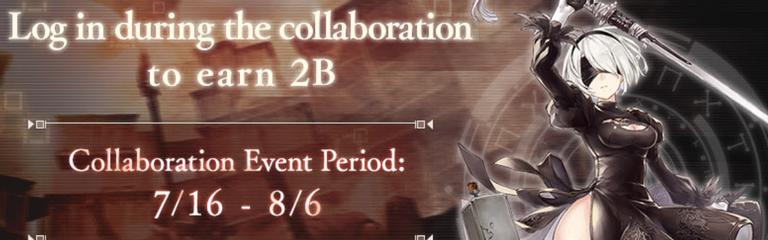 SINoALICE - В игре стартовала коллаборация с NieR