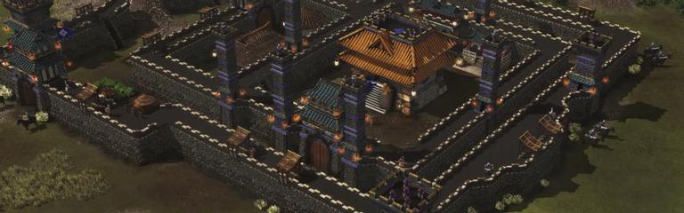 Stronghold Warlords - Полчаса геймплея за монгольское войско