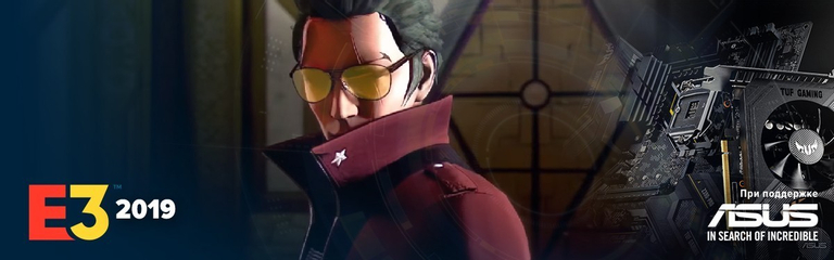 [E3 2019] No More Heroes 3 - Трэвис Тачдаун снова в деле