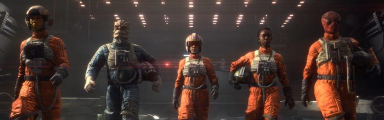 Gamescom 2020 Star Wars Squadrons  Трейлер одиночной кампании