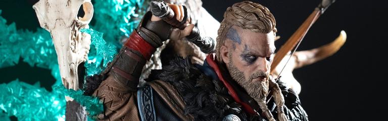 Assassins Creed Valhalla  PureArts и Ubisoft представили фигурку Эйвора за 749. Ей тоже можно менять пол