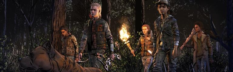 Первые пятнадцать минут финального сезона The Walking Dead