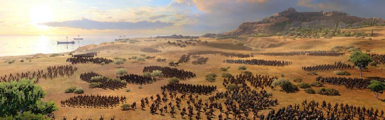 Total War Saga Troy  Синематик, посвященный красотам Греции и Трои