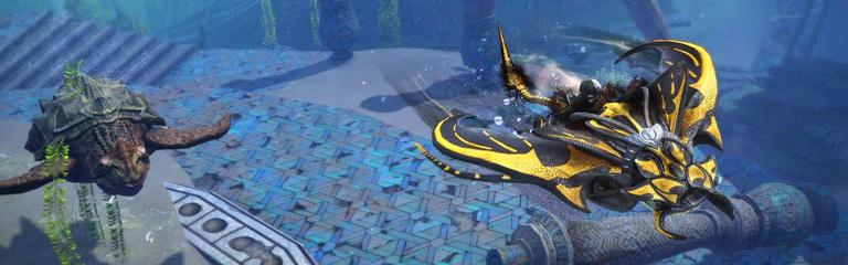 Guild Wars 2  Скоро появится возможность использовать маунтов под водой
