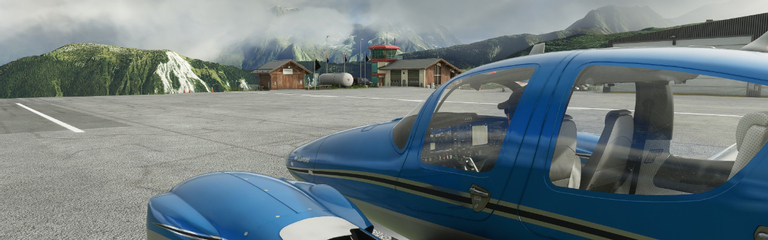 Microsoft Flight Simulator  Созданные вручную аэропорты