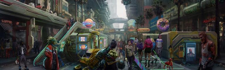 Cyberpunk 2077  Подводная часть Найт-Сити и другие подробности от дизайнера уровней
