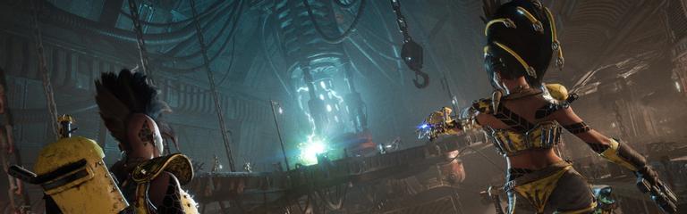 Necromunda Underhive Wars  Трейлер о локациях и окружении