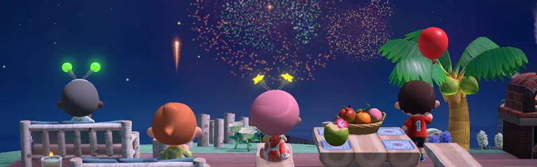 Animal Crossing New Horizons - Во втором обновлении пользователей ждут фейерверки и сновидения