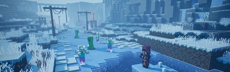 Minecraft Dungeons - Дополнение Creeping Winter получило дату релиза
