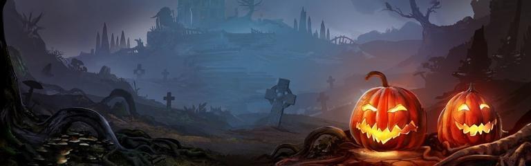 Хэллоуин в онлайн-играх