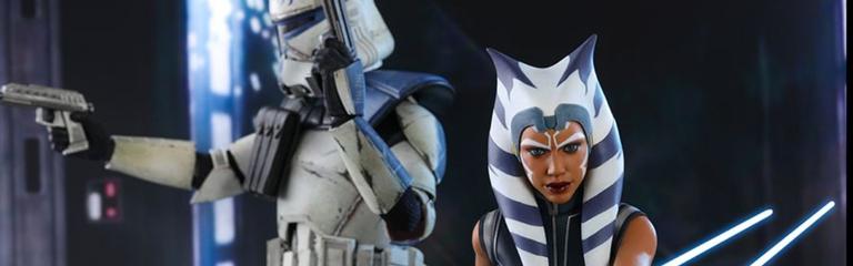 По случаю финала Звездных войн Войны клонов Hot Toys выпустит фигурку Асоки Тано