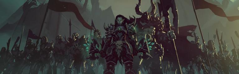 World of Warcraft Shadowlands - Анимационный ролик Малдраксус
