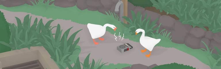 Untitled Goose Game - Устроить переполох можно будет с друзьями