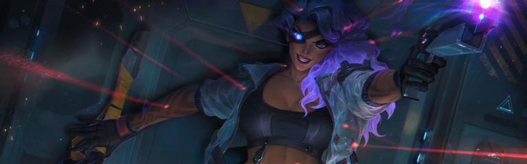 League of Legends - Демонстрация умений Самиры и трейлер образов Пси-отряд