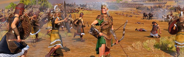 За сутки на халявную Total War Saga Troy в Epic Games Store позарились 7,5 миллионов человек