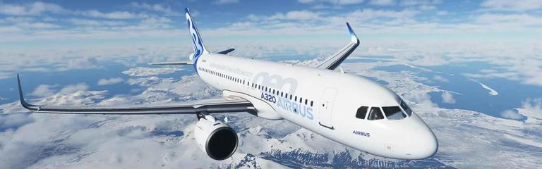 Microsoft Flight Simulator - Авиокомпания S7 Airlines проведет онлайн-рейс Москва-Инсбрук