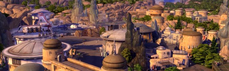 Gamescom 2020 The Sims 4 - Анонсировано дополнение Star Wars Journey to Batuu