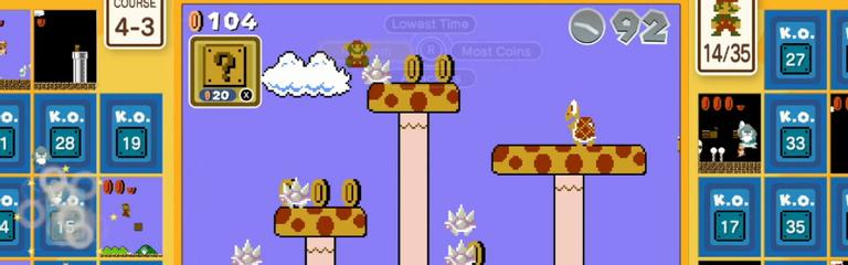 Super Mario Bros. 35 - Королевская битва, но Mario